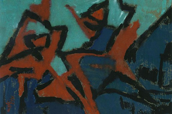 A Mela Hartwig painting from 1964.